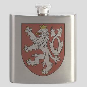 Coat of Arms czechoslovakia Flask