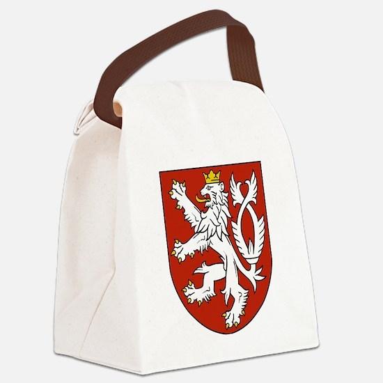 Coat of Arms czechoslovakia Canvas Lunch Bag