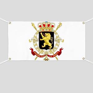 Coat of Arms Belgium Banner