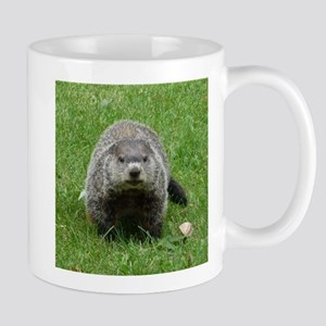 Groundhog (Woodchuck) Stainless Steel Travel Mugs