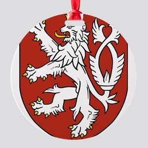 Coat of Arms czechoslovakia Round Ornament