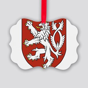 Coat of Arms czechoslovakia Picture Ornament