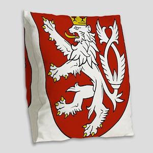 Coat of Arms czechoslovakia Burlap Throw Pillow