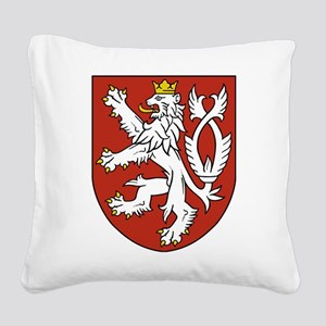 Coat of Arms czechoslovakia Square Canvas Pillow