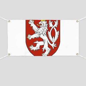 Coat of Arms czechoslovakia Banner