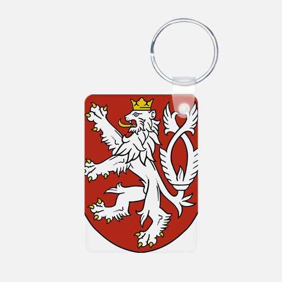 Coat of Arms czechoslovakia Keychains