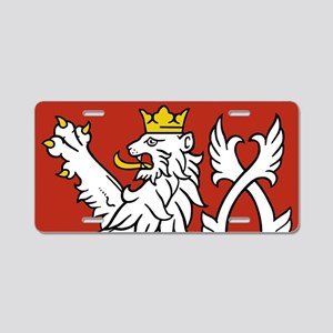 Coat of Arms czechoslovakia Aluminum License Plate