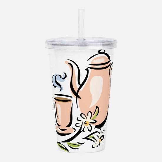 Tea Acrylic Double-wall Tumbler