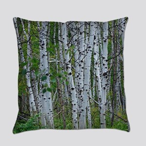Thick Aspen grove Everyday Pillow