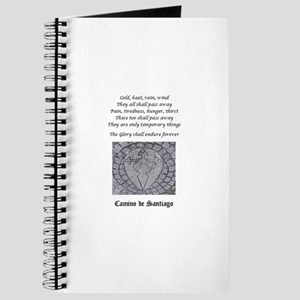 Camino Poem W/ Waymarker Journal