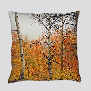 Misty Aspens Everyday Pillow