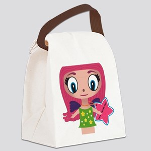 Fairy Twinkle Dust Canvas Lunch Bag