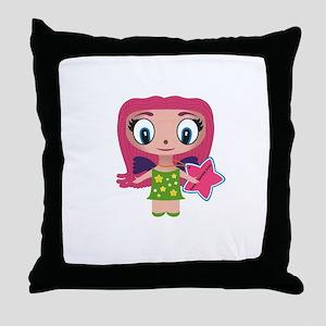 Fairy Twinkle Dust Throw Pillow