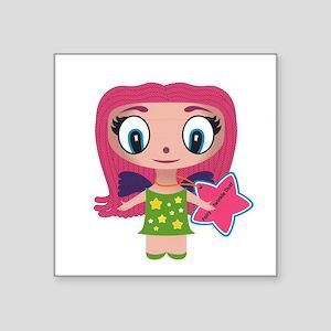 "Fairy Twinkle Dust Square Sticker 3"" x 3"""