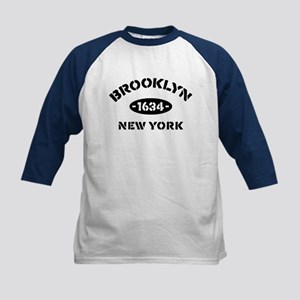 Brooklyn New York Est. 1634 Kids Baseball Jersey