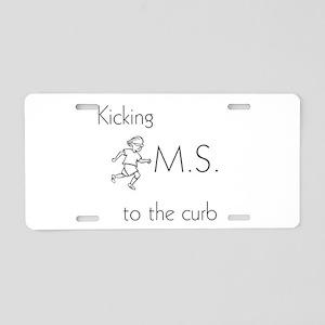 Kicking MS to the curb - ki Aluminum License Plate