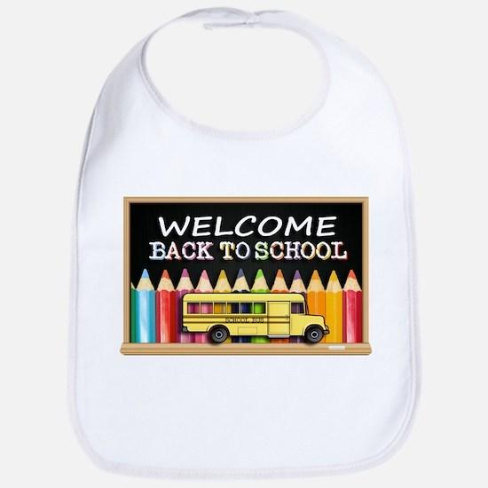 WELCOME BACK TO SCHOOL BUS Bib