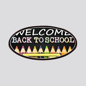 WELCOME BACK TO SCHOOL BUS Patch