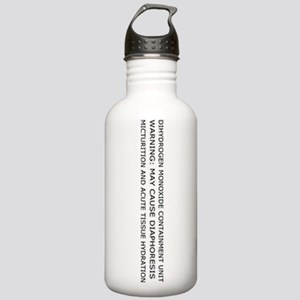 Dihydrogen Monoxide Stainless Water Bottle 1.0L