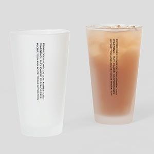 Dihydrogen Monoxide Drinking Glass