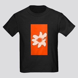 Orange Floral Flower Wilma's Fave T-Shirt