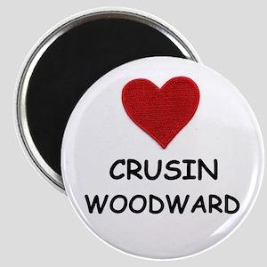 LOVE CRUSIN WOODWARD Magnet