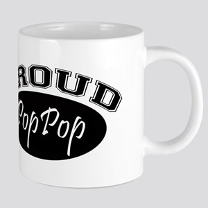 Proud PopPop (black) Mugs