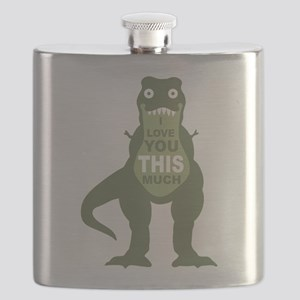 I love you this much Flask