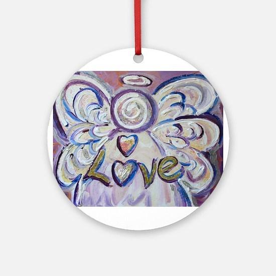 Love Angel Ornament (Round)