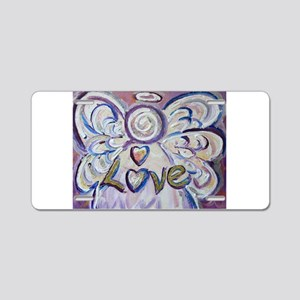 Love Angel Aluminum License Plate