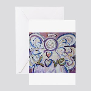 Love Angel Greeting Cards