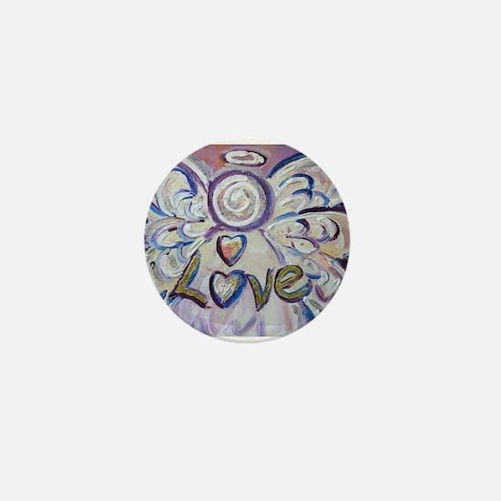Love Angel Mini Button