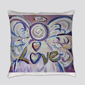 Love Angel Everyday Pillow