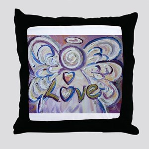 Love Angel Throw Pillow