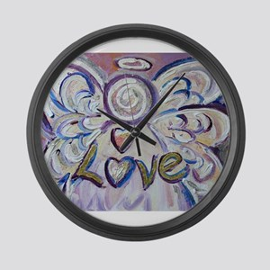 Love Angel Large Wall Clock