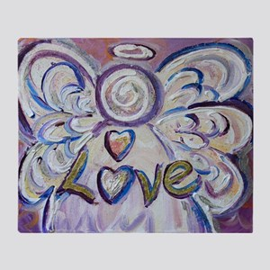 Love Angel Throw Blanket