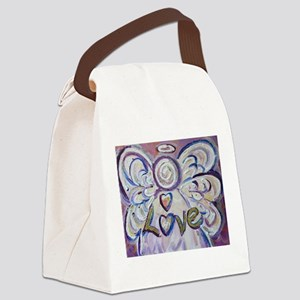 Love Angel Canvas Lunch Bag