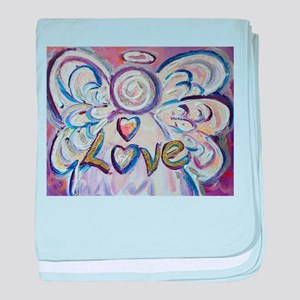 Love Angel baby blanket