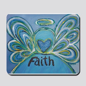 Faith Angel Mousepad
