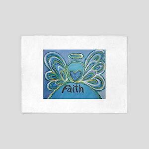 Faith Angel 5'x7'Area Rug