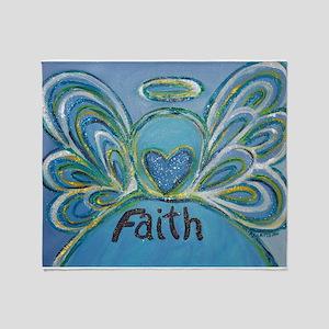 Faith Angel Throw Blanket