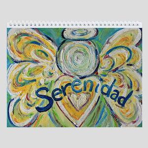 Serenidad Angel Wall Calendar