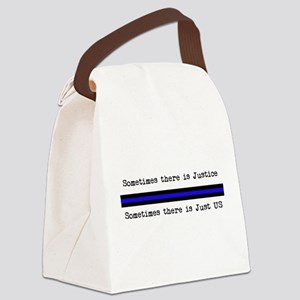 Justice_Just Us Canvas Lunch Bag