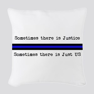 Justice_Just Us Woven Throw Pillow