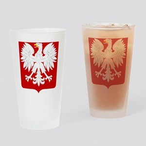 Arms of Poland Drinking Glass