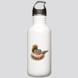 Squirrel Cutting Cake Stainless Water Bottle 1.0L