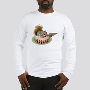 Squirrel Cutting Cake Long Sleeve T-Shirt