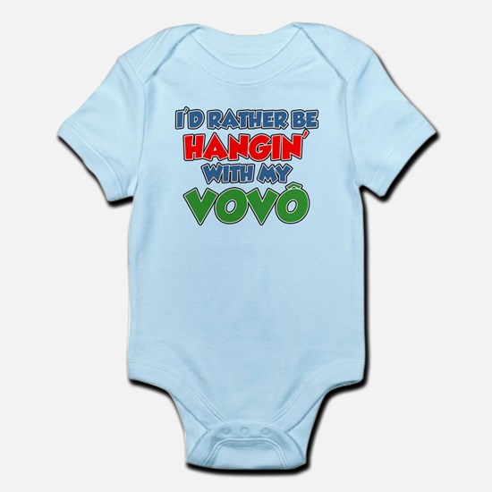 Rather Be With Vovo (Grandpa) Body Suit