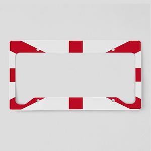 flag License Plate Holder