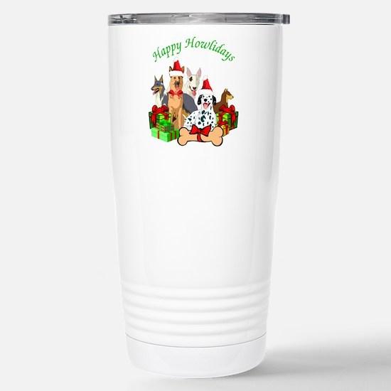 Howliday Dogs Travel Mug